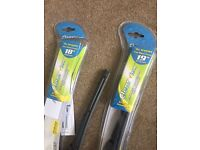 18 & 19 inch flat wiper blades