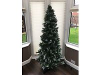 6ft 6in pre Lit LED Nova Scotia Christmas tree from B&Q