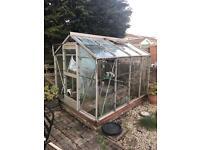 Full glass greenhouse