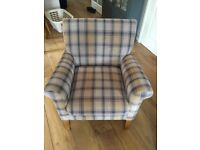 X2 Balmoral Fabric Accent Chairs