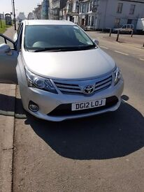 2012 toyota avensis diesel pco car for sale