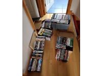 200 + DVD JOB LOT Everything must go. Great for a Car Boot Sale.