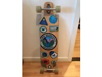 Madrid Longboard-D.T.F Patches