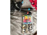 Ps3 microphones and games