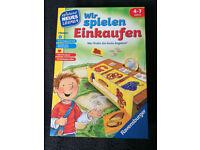 German Children Game - Wir spielen Einkaufen