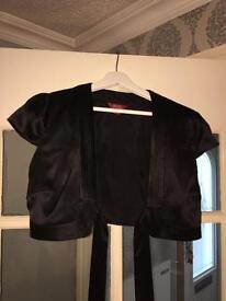 Size 14 Black Bolero Jacket £7