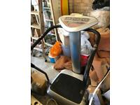 Lakes trading fitness vibrating plate machine like new, plastic cover still on front