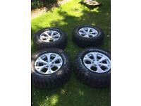 Mitsubishi l200 wheels