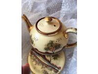 China Tea pot with plate