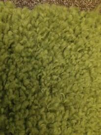Next 'Cosy Green' Rug 120x170