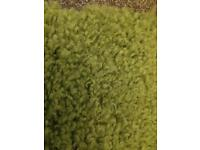 Next 'Cosy Green' Rug 120x170