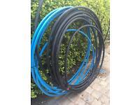 Black mdpe pipe 25mm & blue 20mm