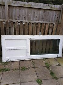 Pvc doors front and rear available