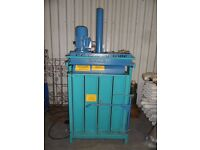 USED VERTICAL BALING PRESS AUSTROPRESSEN K70 240 VOLTS 13 AMPS.
