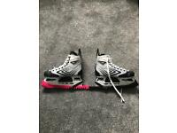 Ice Skates : CCM Unisex Ice Hockey Skates - good condition