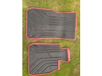 BMW front mats for sale.