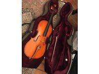 Three quarter Size cello