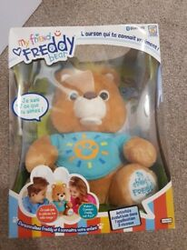 My friend Freddy interactive bear