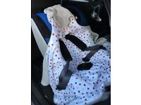 Morrck Car Seat baby hoody
