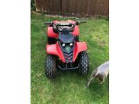 Kazuma 110cc quad