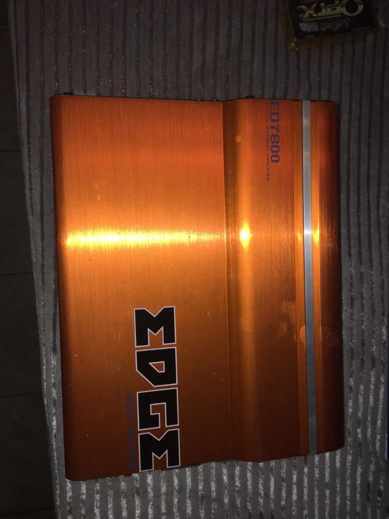 Car Amplifier (Edge 7800)