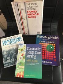 Nurse training reading list books