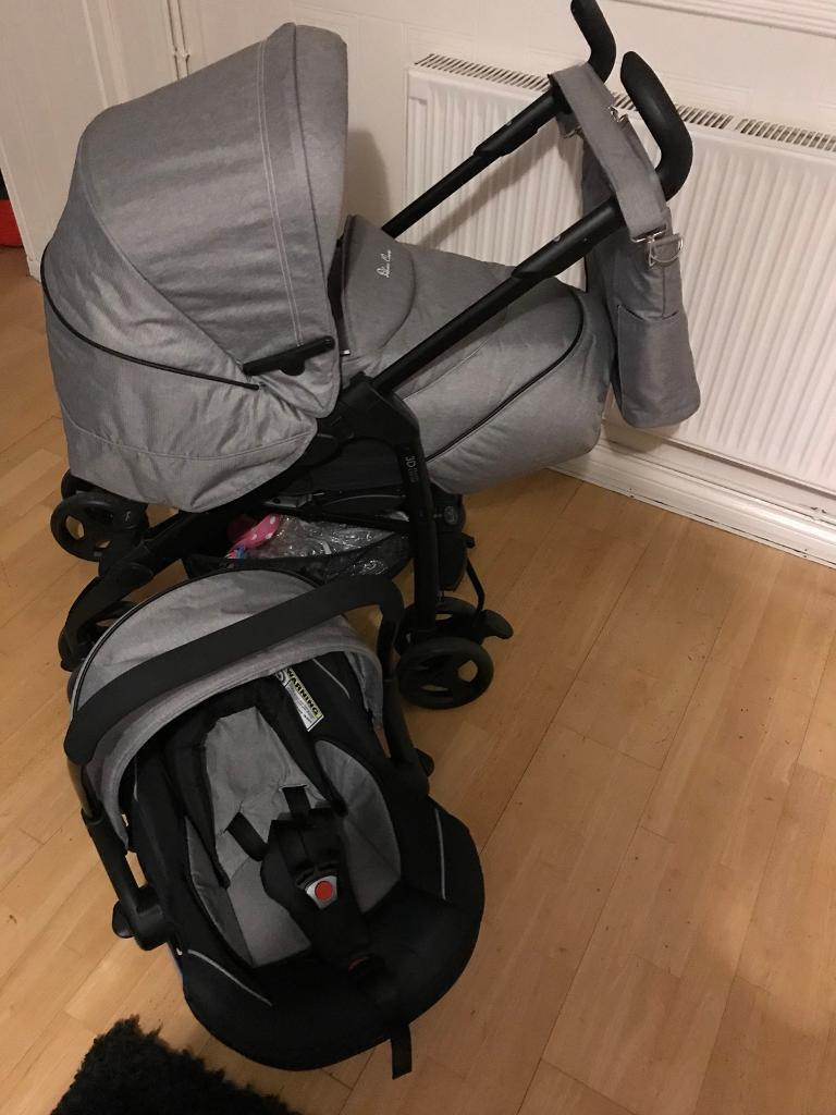 Silvercross 3D Travel System and ISO fix base