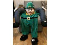 Leprechaun fancy dress costume- unisex