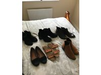 Bundle of women's shoes. All size 6. All good condition.