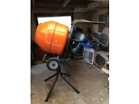 electric cement mixer(s) with stand(s) for sale