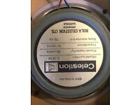 Celestion greenback speakers x4