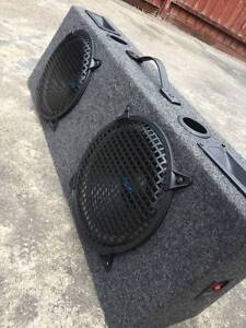 2 x 350 watt REACTOR CAR AUDIO SUB WOOFERS IN WORKING CONDITION Endeavour Hills Casey Area Preview