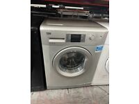 7KG 1400 SPIN SILVER BEKO WASHING MACHINE