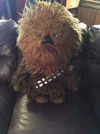 Star Wars 24-inch Deluxe Talking Chewbacca Plush