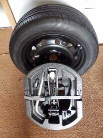 Spare wheel for Skoda Fabia 2008