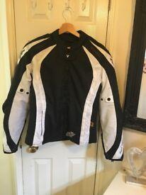 Women's Frank Thomas Motorbike Jacket Size xl