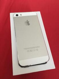 iPhone 5s 32gb white silver Unlocked like new