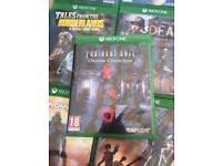 Resident evil origins Xbox one
