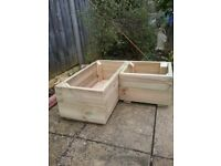 Wooden planters Make to order