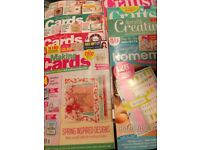 Craft magazines x 8