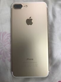 I phone 7 plus gold 32gb