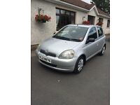 2003 1.3 Toyota Yaris - MOT'd Jan 2019