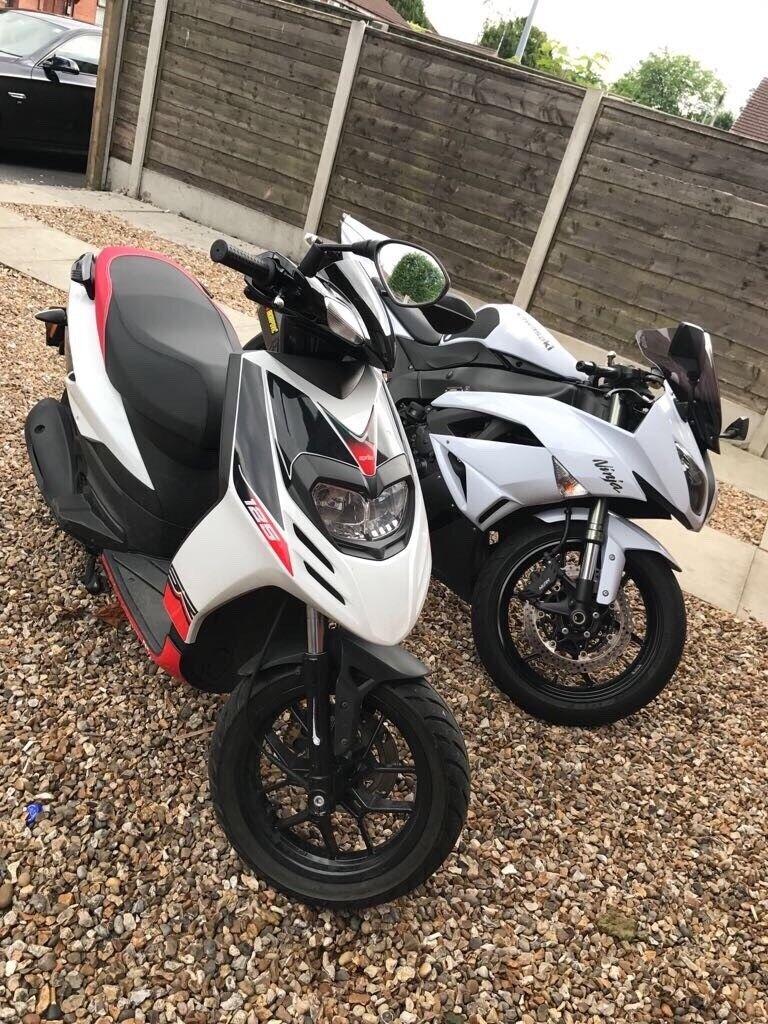 Aprilia SR 125 moped for sale, Manchester. (9/10)