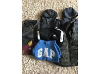 Boys jacket and jumper bundle aged 5 years