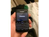 Blackberry bold - touch screen
