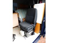 VAN SEAT, UNIVERSAL FITTING, HARDLY USED SO AS NEW CONDITION, £80