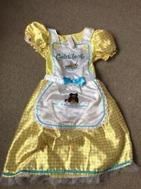 Goldilocks dress up age 7