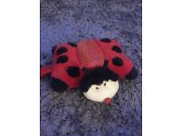 Ladybird pillow pet with lights