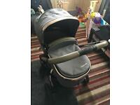 Mothercare Orb Pushchair/Travel System with maxi cosi adapters