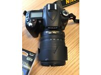 NIKON D90 DIGITAL CAMERA AND ACCESORIES. IMMACULATE!